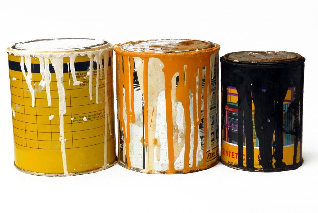 MRCVR Guide de tri - Résidus de peinture